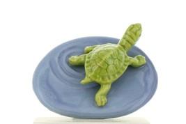 Hagen Renaker Miniature Turtle Pond Ceramic Figurine - £8.45 GBP