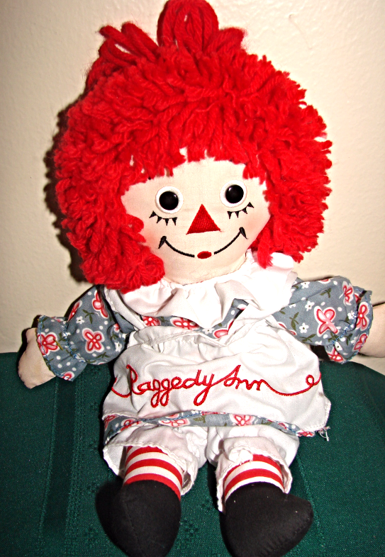 "Raggedy Ann 12"" 85th Birthday Doll---applause"
