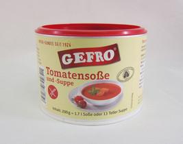 Gefro ORGANIC Tomato Soup /Sauce -VEGAN Gluten Lactose Free-1,7l- - $12.38