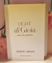 Giorgio Armani Light Di Gioia edp .04oz/1.2mL Trial Spray Vial NEW! - $6.78
