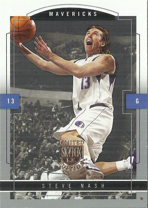 Primary image for 2003-04 SkyBox LE #77 Steve Nash