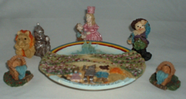 Popular Imports Wizard of Oz Tea Set 1997 Minia... - $9.99