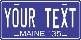 Maine 1935 Personalized Tag Vehicle Car Auto License Plate - $16.75