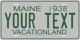 Maine 1938 Personalized Tag Vehicle Car Auto License Plate - $16.75