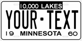 Minnesota 1960 Personalized Tag Vehicle Car Auto License Plate - $16.75