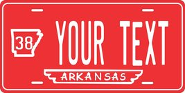 Arkansas 1938 Personalized Tag Vehicle Car Auto License Plate - $16.75