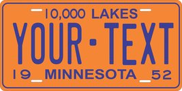 Minnesota 1952 Personalized Tag Vehicle Car Auto License Plate - $16.75