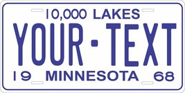 Minnesota 1968 Personalized Tag Vehicle Car Auto License Plate - $16.75