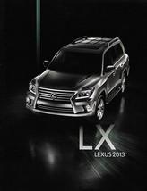 2012/2013 Lexus LX 570 1st Edition brochure catalog 13 US Land Cruiser - $9.00