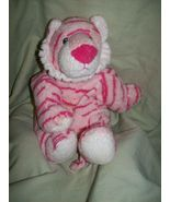 "Ty Pluffies Plush Pink Bean Lovey 9"" GROWLERS Doll Toy - $16.99"