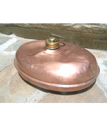Antique Copper Fireplace Bed Foot Warmer Germany bz - $89.99