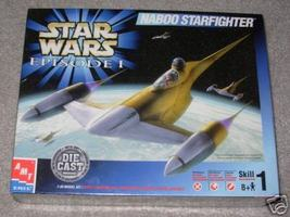 ERTL Star Wars Episode I Naboo Starfighter Die Cast Model - $18.99