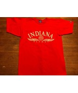 Vintage Champion Brand Indiana Alumni T-shirt Large Made In USA - $12.83