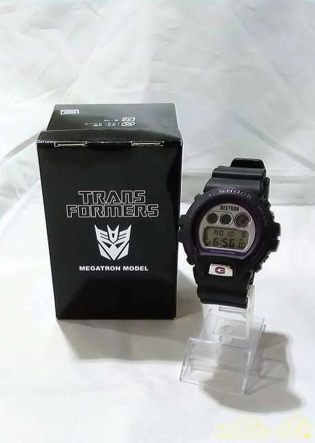 Primary image for CASIO G-SHOCK DW-6900-FS Transformers Megatron Model wristwatch From Japan