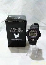 CASIO G-SHOCK DW-6900-FS Transformers Megatron Model wristwatch From Japan - $370.00