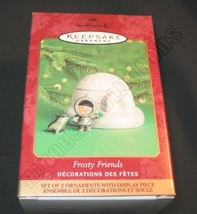 2000 Hallmark Keepsake Ornament Frosty Friends QX8524 - $18.85