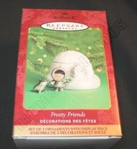 2000 Hallmark Keepsake Ornament Frosty Friends QX8524 - $18.85
