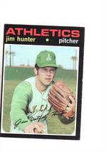 1971 TOPPS BASEBALL CARD#45 JIM HUNTER  EX/EX++NM A'S STAR - $4.77
