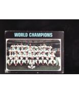 1971 TOPPS BASEBALL CARD#1 WORLD CHAMPIONS ORIOLES VGEX- NO CREASES  - $3.11