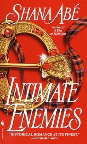 Intimate Enemies by Shana Abe (2000, Hardback)