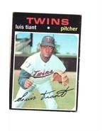 1971 TOPPS BASEBALL CARD#95 LUIS TIANT  NEAR EX++NM TWINS STAR - $3.04