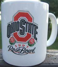 OHIO STATE Football 1997 ROSE BOWL Ceramic Souvenir Mug - $79.99