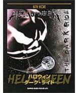 Helloween THE DARK RIDE Japan Band Score Guitar Tab Music Book - $126.48