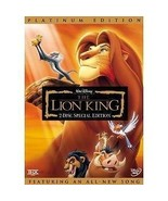 The Lion King (DVD, 2003, 2-Disc Set, Platinum Edition; - $7.92