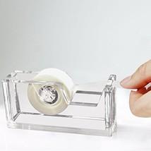 "Desktop Clear Acrylic Tape Dispenser 1"" Core - Classy, Elegant and Moder... - €13,20 EUR"