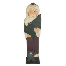 Grandeur Noel Austria Hand Painted Wooden Santa Collectors Edition Origi... - $25.21