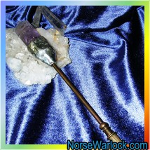 Legacy Master Caster Crystal Gemstone Brass Magick Ritual & Spell Wand! - $7,499.99