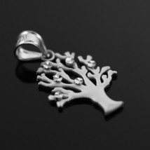 Sterling Silver Tree Of Life Charm Pendant Necklace - €17,12 EUR+