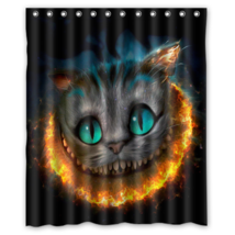 Cat #03 Shower Curtain Waterproof Made From Polyest - $29.07+