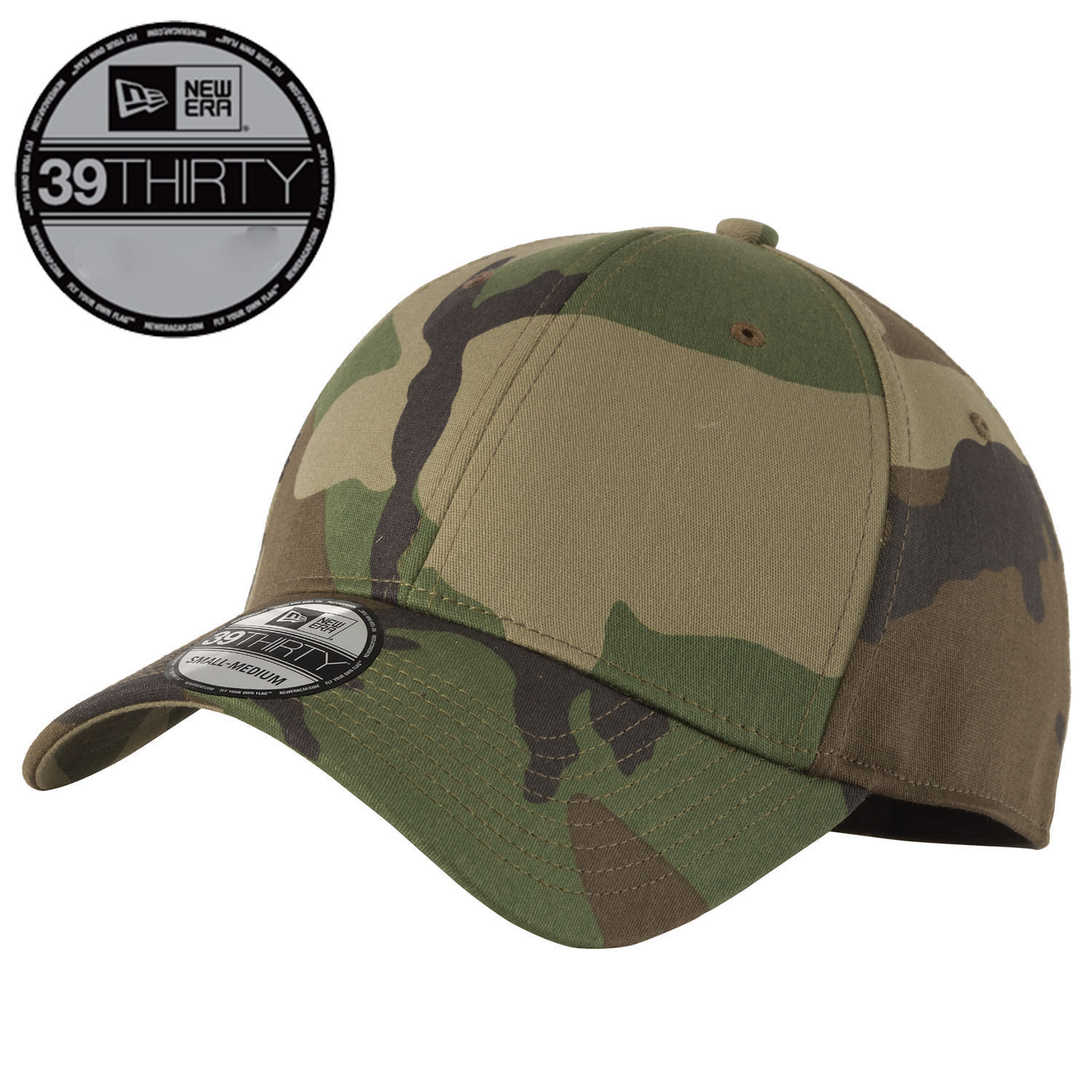 S l1600. S l1600. New Era 39Thirty Blank Stretch Cotton fitted CAMO Hat Cap  NE1000 Free Shipping b1c52670435a