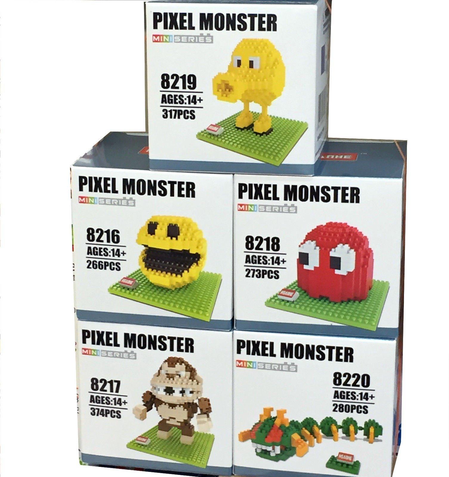 Pixels Movie Building Blocks Pac Man Block And 23 Similar Items Loz Nano Nanoblock Kung Fu Panda Po 71qb3fvxihl