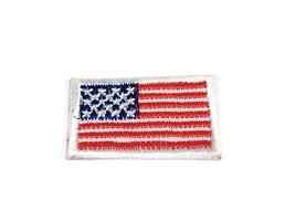 Iron on Flag Patches for Clothes Shirts Nation Flag Emblem Iron on Patch Embr... - $15.89
