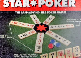 Star Poker Tile Game by Pressman - $12.75