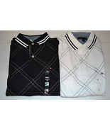 Tommy Hilfiger Mens Polos  Sizes   M or L    NWT White or Black - $31.99