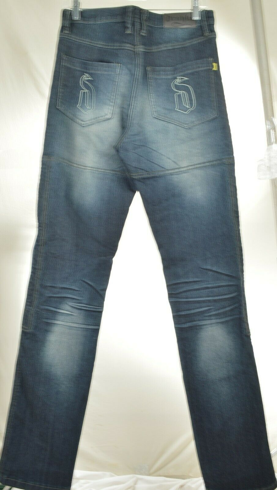 Drayko Jeans Mens 30 x 37 Motorcycle Riding extra long padded - Slightly Used image 2