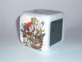 New Led Alarm Clock for Kids Trigun Vash Creative Desk Clock Digital Ala... - $19.99