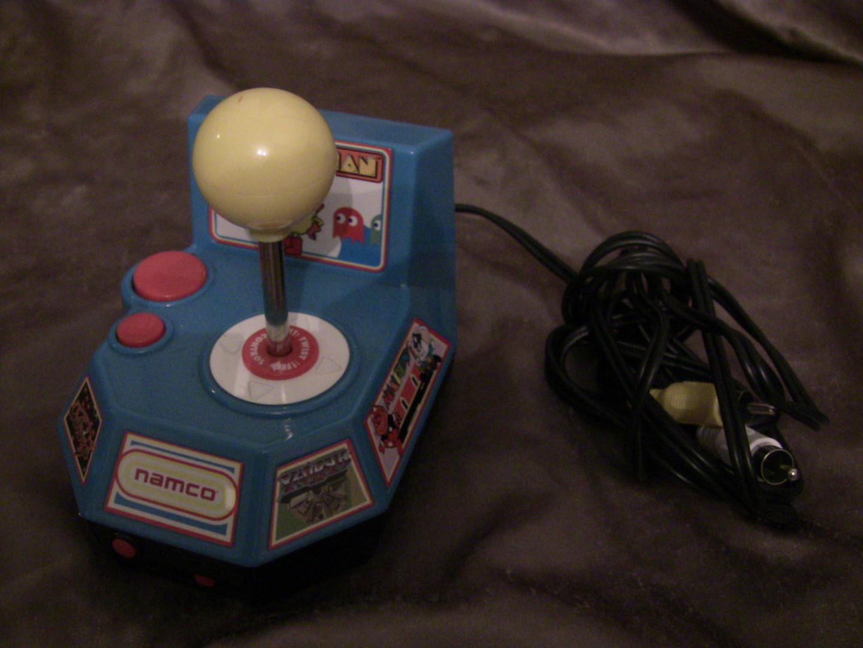 Namco Plug and Play Jakks Ms Pac-man 5 in 1 TV Video Game 2004 Game Key Dig Dug