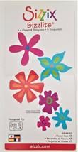 Sizzix Sizzlits 4 Die Set Flower Set #3 - $7.19