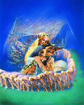 A Midsummer Night'S Dream Olivia De Havilland Beautiful Artwork 16x20 Canvas - $69.99