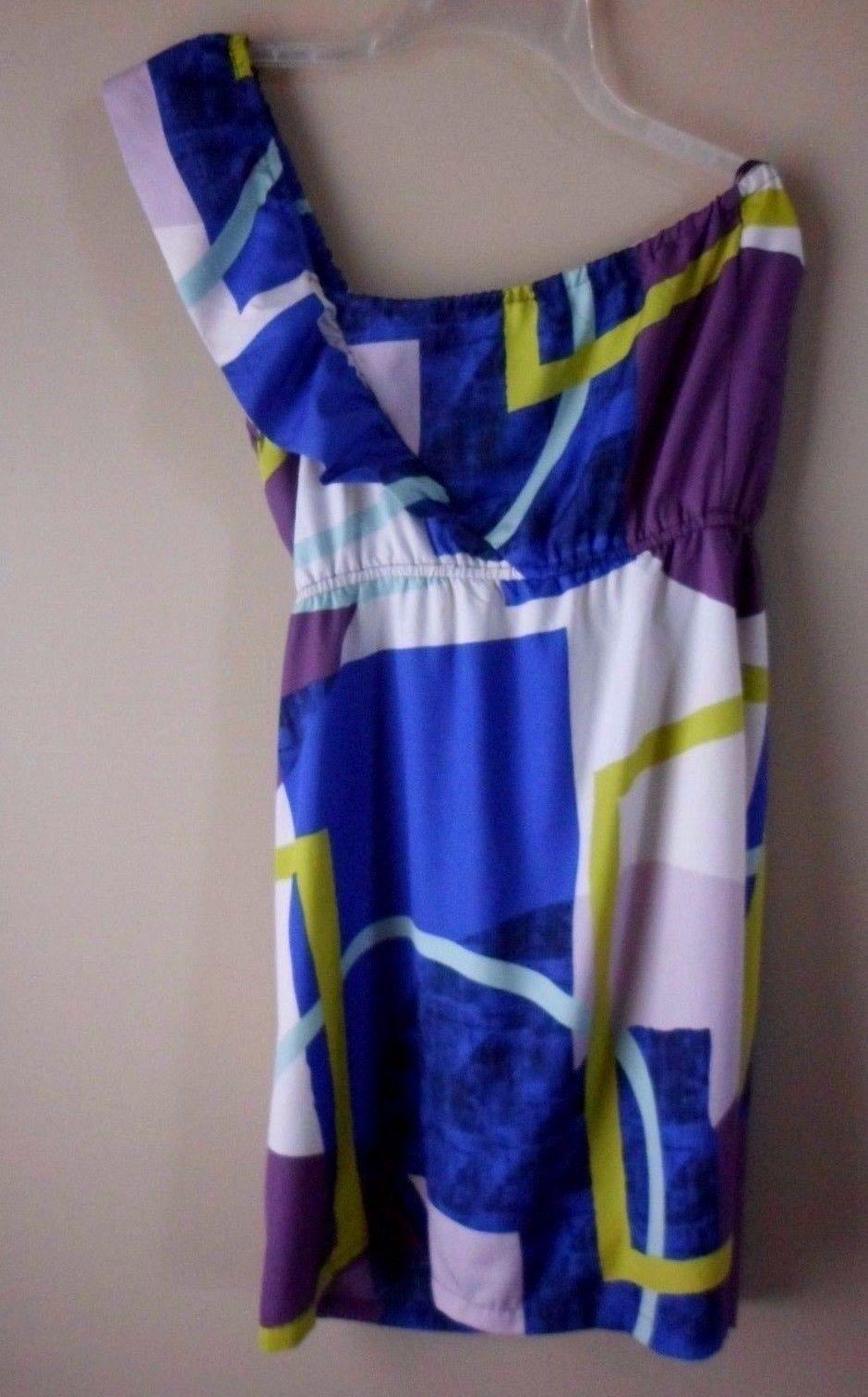 b91cffc9e5 Roxy Dress Blue Purple White Size Medium and 26 similar items
