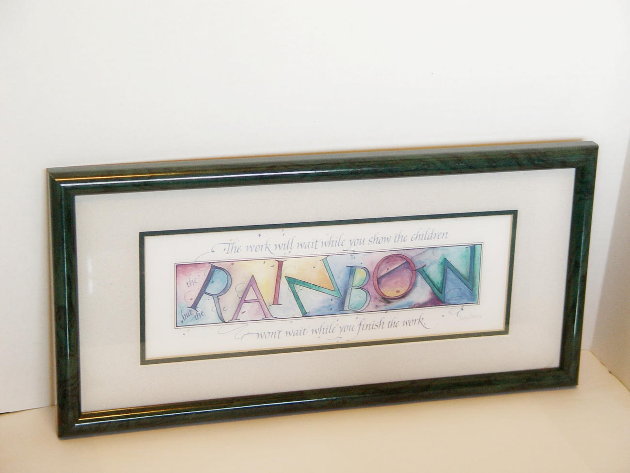 Primary image for Judy Dodds- Framed Print, Rainbow