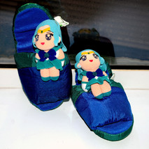 Sailor Neptune plush stuffed slippers Japanese Saillor Moon shoes - $17.81