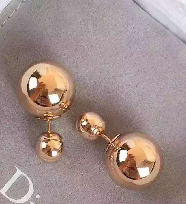 ff916f759bc8fb Auth Christian Dior TEE SHIRT Mise En Dior Tribal Pearl Earrings ...