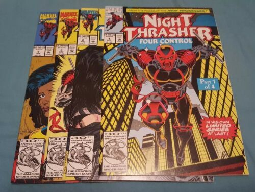 Night Thrasher: Four Control #1-4 (Complete mini series)