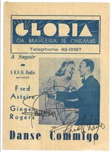 * ALEXANDER'S RAGTIME BAND (1938) Herald Signed by FRED ASTAIRE & GINGER... - $150.00