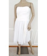 Nwt Lauren Ralph Lauren Strapless Cocktail Semi Formal Prom Dress Sz 8 W... - $84.10